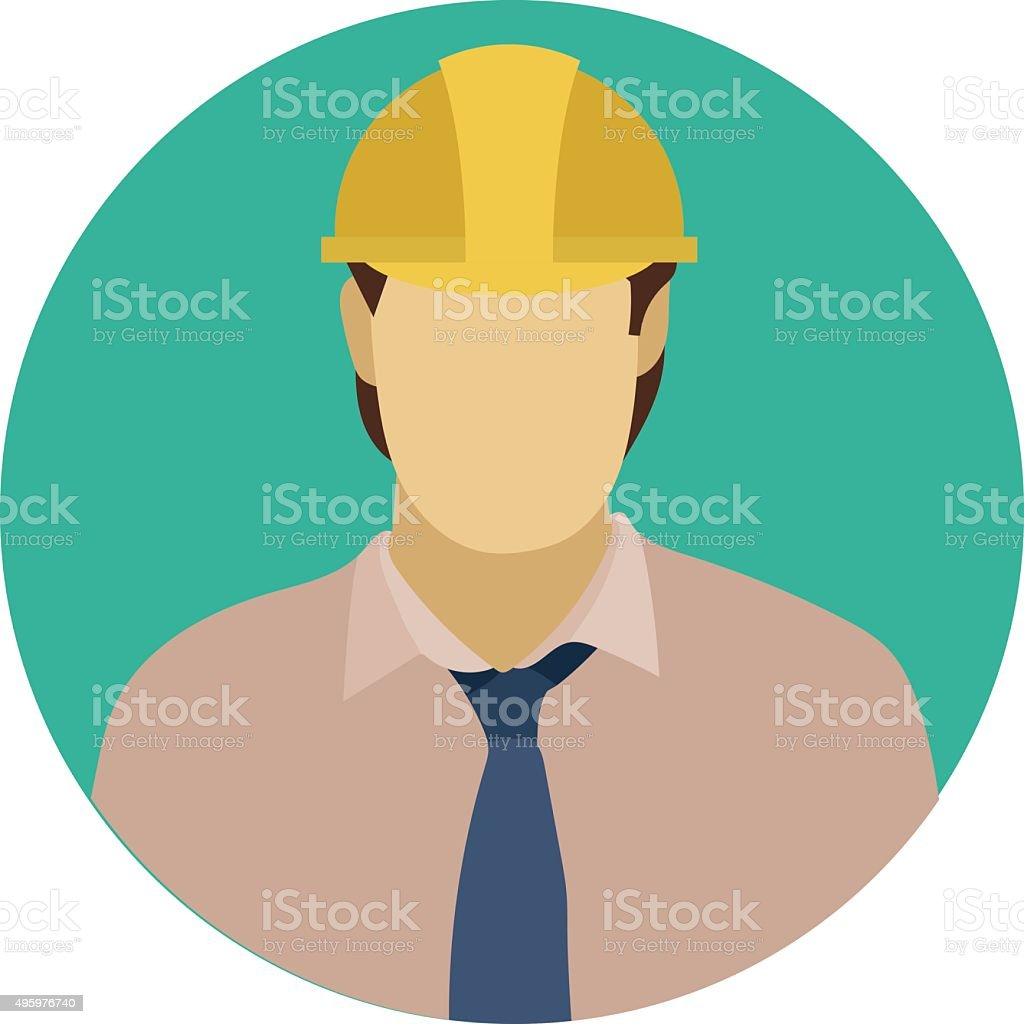 Security Guard Colored Vector Illustration vector art illustration