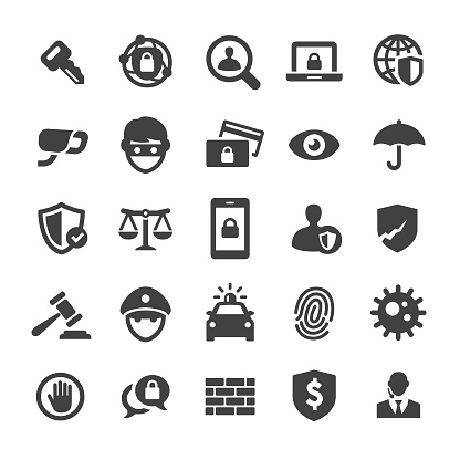 Security Icons Set - Smart Series