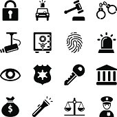 Vector File of Security Icons related vector icons for your design or application.