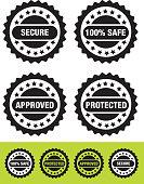 Security Label - Illustration