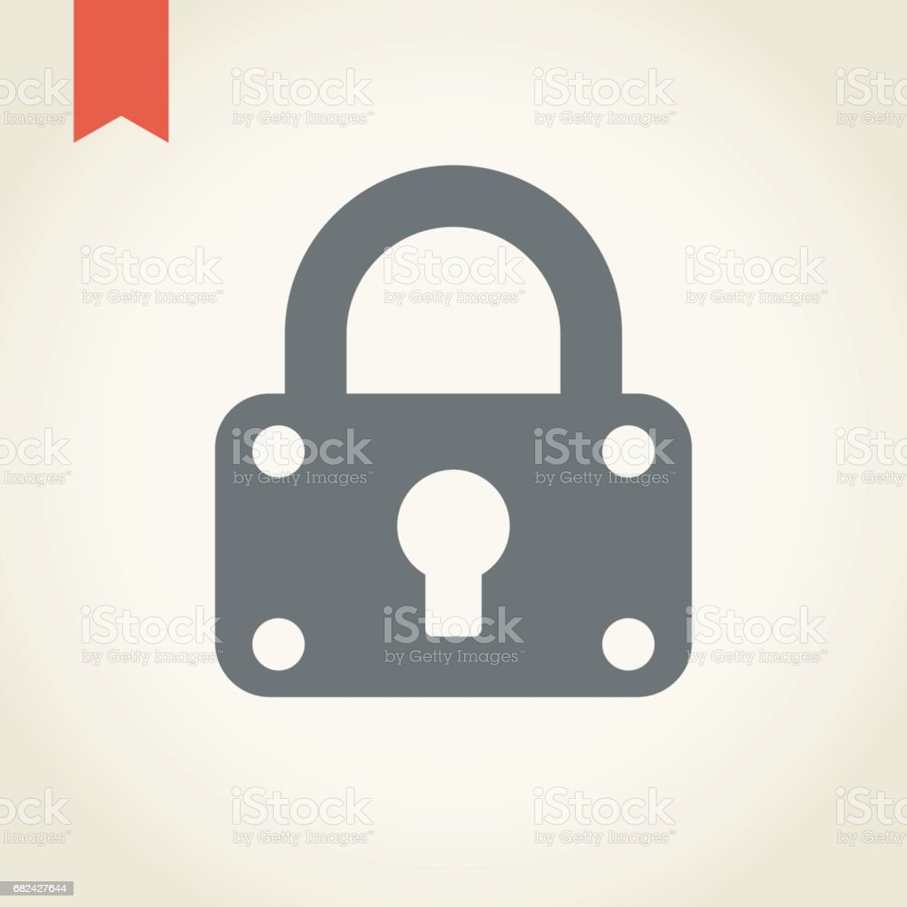 Icône de sécurité serrure icône de sécurité serrure – cliparts vectoriels et plus d'images de cadenas libre de droits