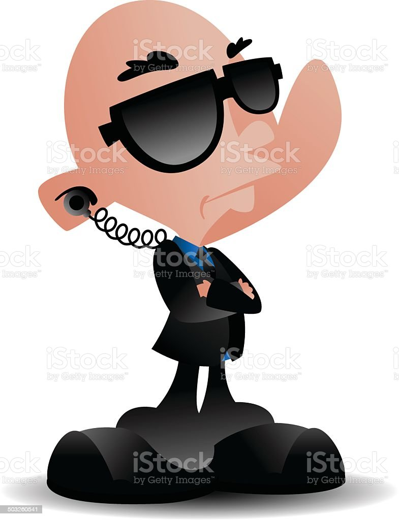 Security Man royalty-free security man stock vector art & more images of adult
