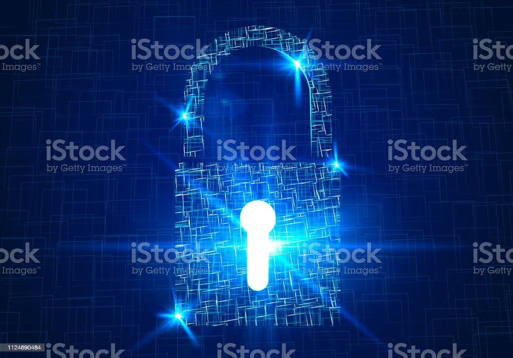 Security Padlock Internet Security Violation Privacy Secure Password