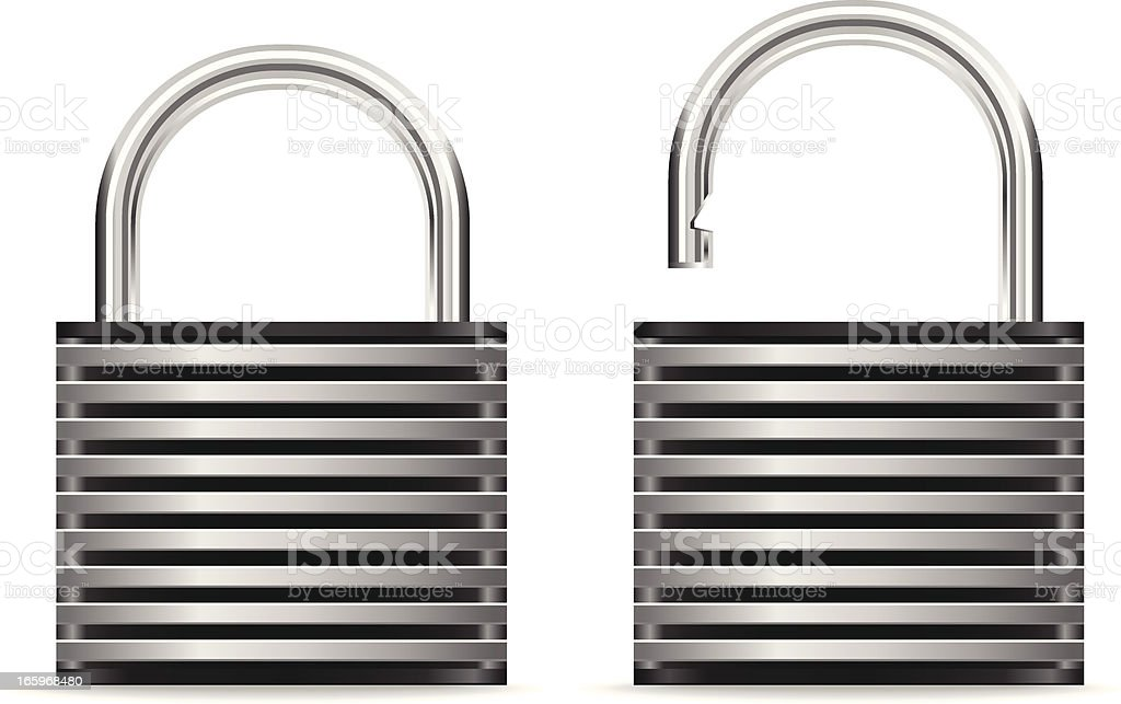 Security Padlock royalty-free security padlock stock vector art & more images of closed