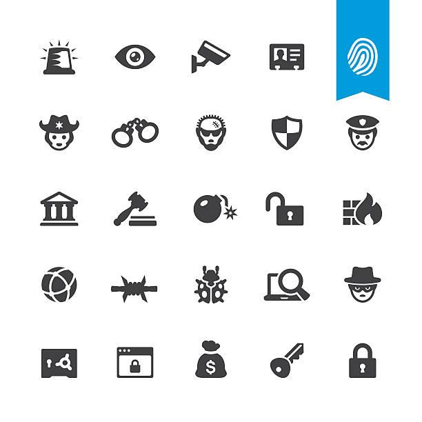 セキュリティー関連のベクトルのアイコン - id盗難点のイラスト素材/クリップアート素材/マンガ素材/アイコン素材
