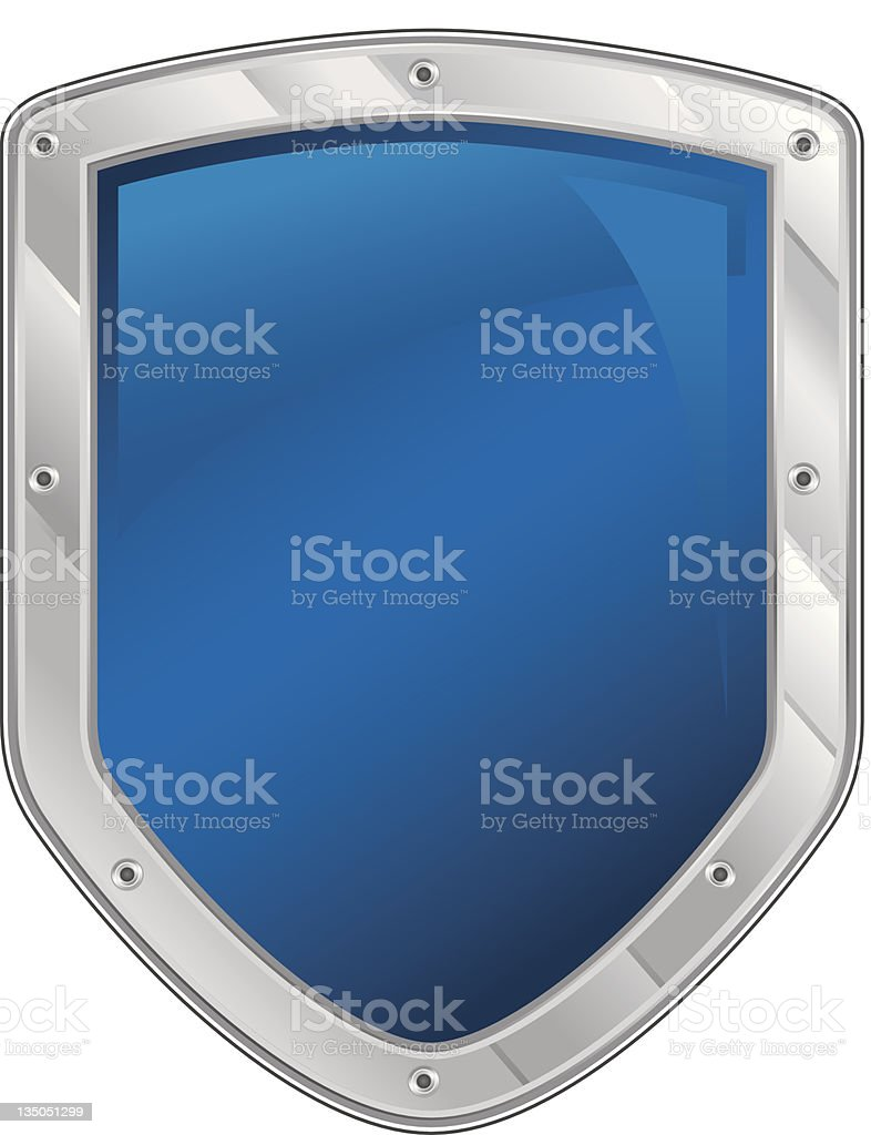 Security shield icon royalty-free stock vector art