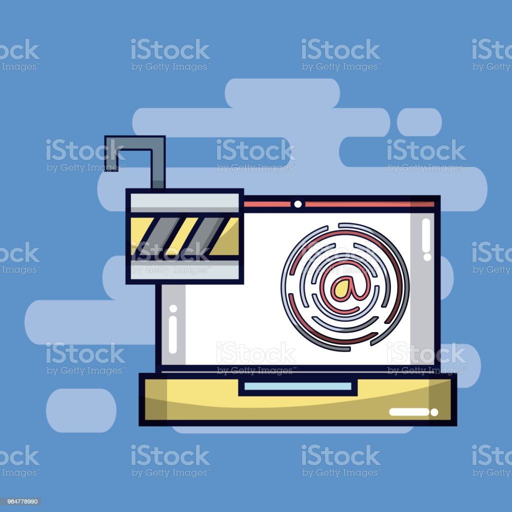 Security system and antivirus royalty-free security system and antivirus stock vector art & more images of no people