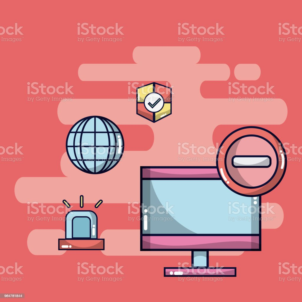 Security system and data protection royalty-free security system and data protection stock vector art & more images of antivirus software