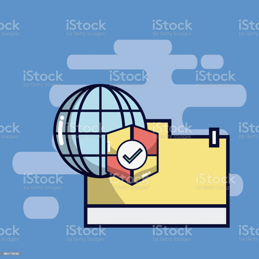 Security system technology royalty-free security system technology stock vector art & more images of antivirus software