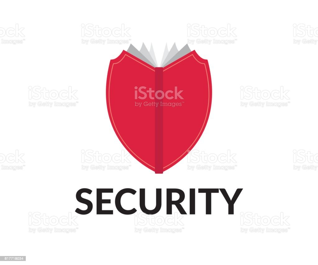 Security vector icon vector art illustration