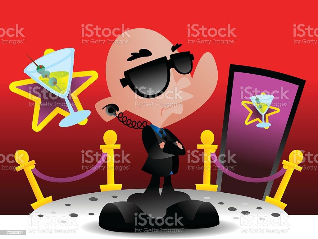 Security royalty-free security stock vector art & more images of bar - drink establishment