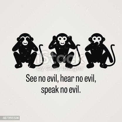 istock See no Evil, Hear no Evil, Speak no Evil 467355306