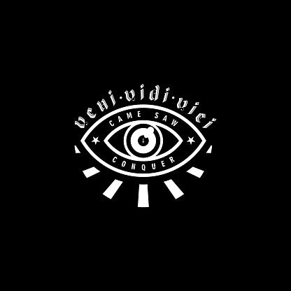 Seeing Eye Occult T-shirt Design Illustration