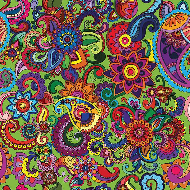 Seemless background cucumber vector art illustration