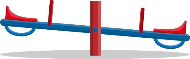 wippe closeup isoliert auf weißem hintergrund. - barnet stock-grafiken, -clipart, -cartoons und -symbole