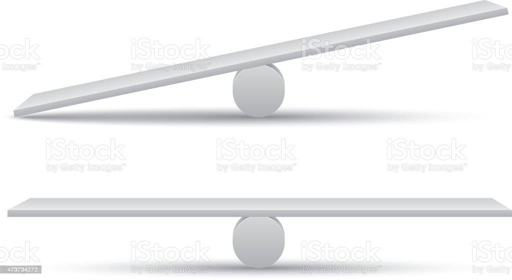 Wippe – Vektorgrafik