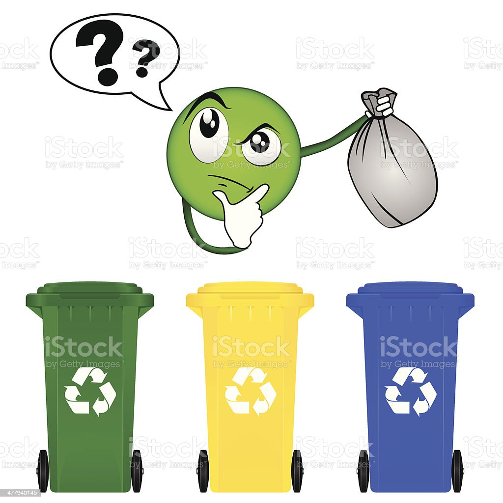 selective sorting stock vector art more images of anthropomorphic rh istockphoto com Funny Smiley Face Clip Art Animated Smiley Face Clip Art