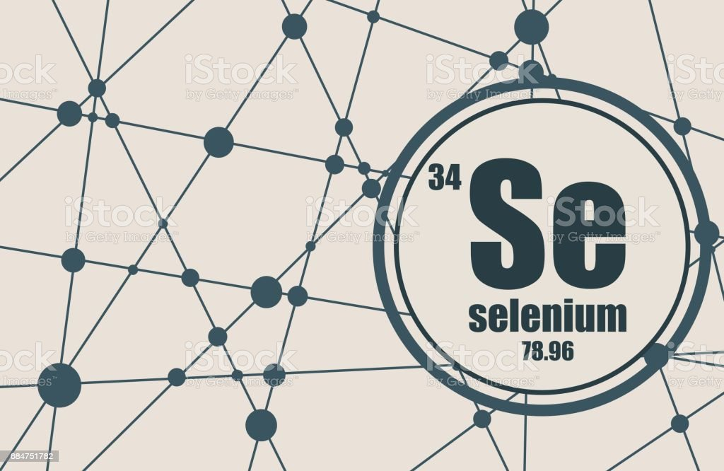 Selenium Chemical Element Stock Vector Art More Images Of Abstract