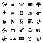Self Storage Icons