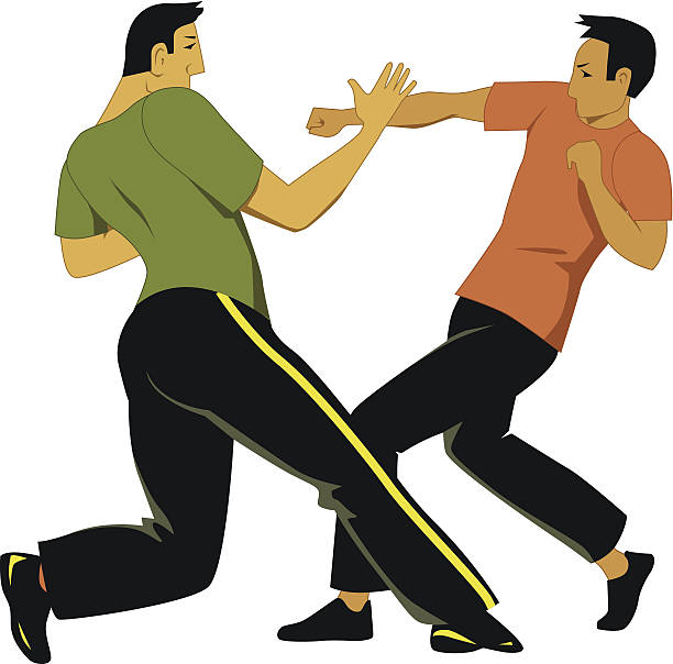 Self Defense Clip Art, Vector Images & Illustrations - iStock