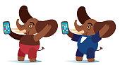Selfie Elephant