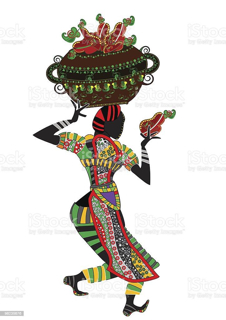 Vendita di frutta vendita di frutta - immagini vettoriali stock e altre immagini di africa royalty-free