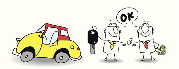 ihr auto verkaufen - schlüsselfertig stock-grafiken, -clipart, -cartoons und -symbole