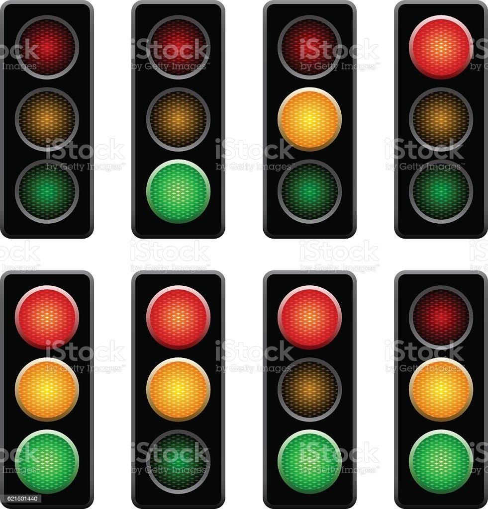 semaphores semaphores – cliparts vectoriels et plus d'images de circulation routière libre de droits