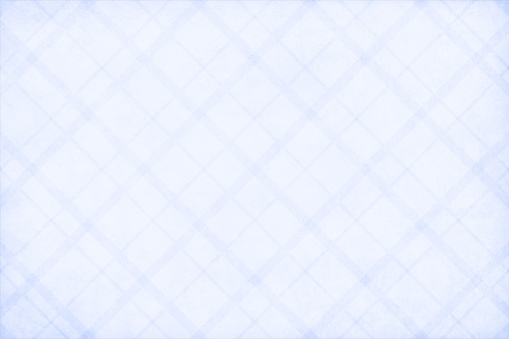 Semi seamless sky blue coloured criss cross pattern of slanted checks all over textured grunge backgrounds