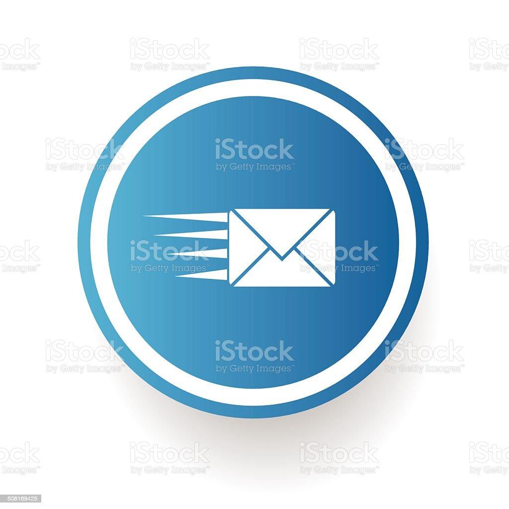 Send email symbol,vector vector art illustration