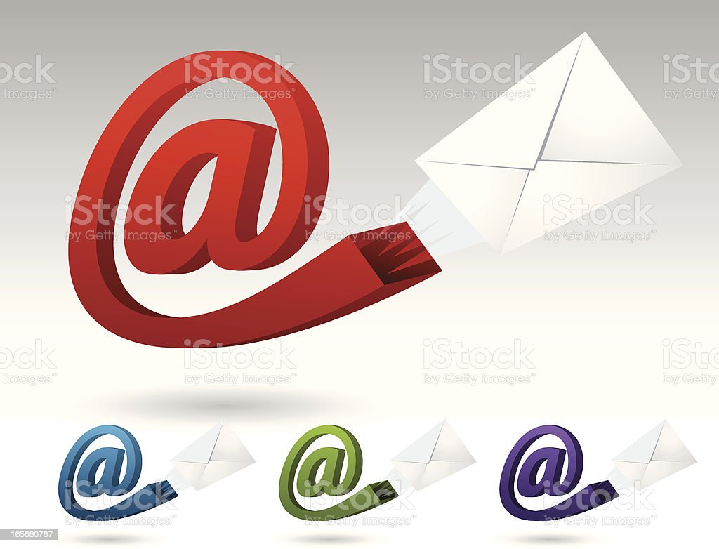 Send Email royalty-free stock vector art