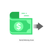 istock Sending Money Icon Vector Design. 1277970326