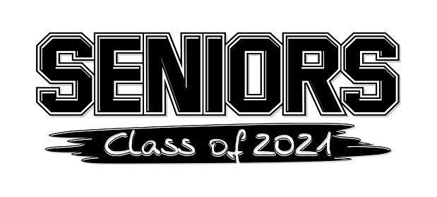 senior class of 2021 logo