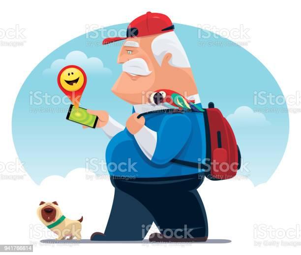 Senior man finding happy emoji with smartphone vector id941766614?b=1&k=6&m=941766614&s=612x612&h=b08wyxbqhoxxpkhf0s7fcgdqyf6u0fva ehiz a29ci=
