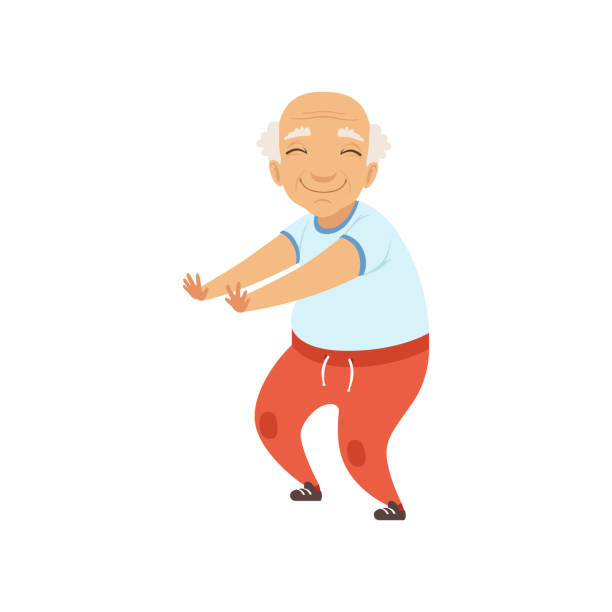 Image result for free clipart senior exercise   Cartoon