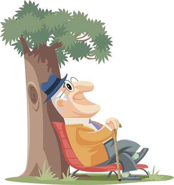 senior man - old man face cartoon stock illustrations, clip art, cartoons, & icons