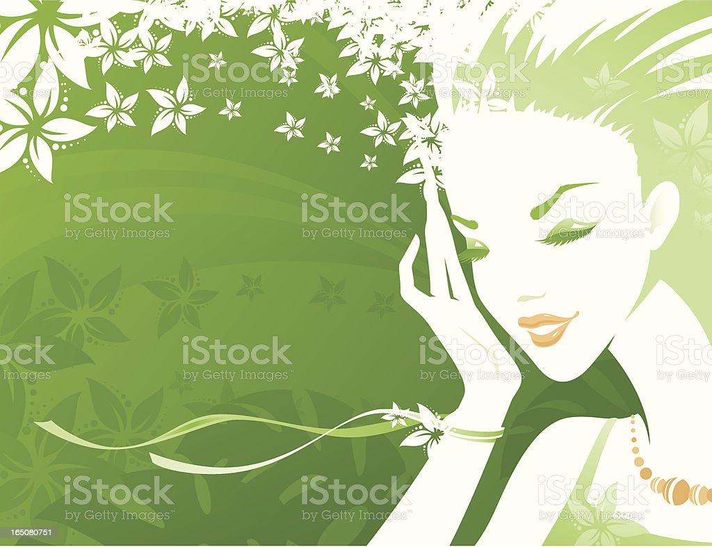 Sensuality - Green royalty-free sensuality green stock vector art & more images of abstract