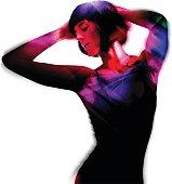 Sensuous Woman Textured