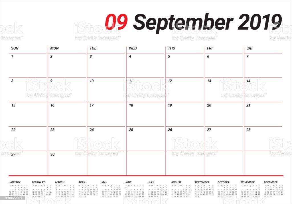 calendar september 2019 malaysia