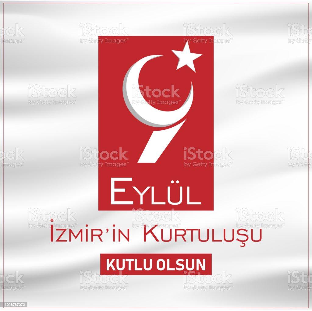 Turkish Flag Silhouette Keyring Birthday Gift
