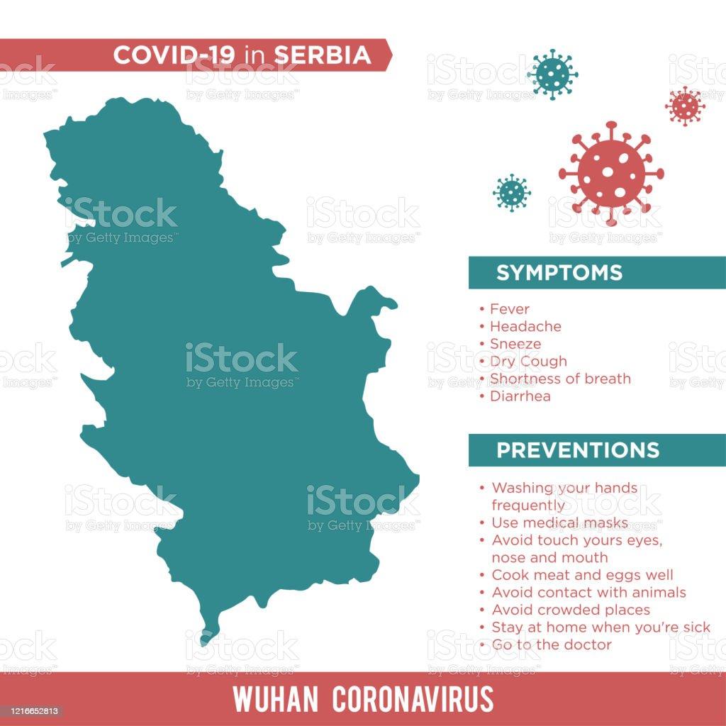 セルビア コロナ