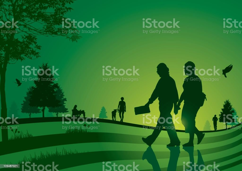 Serene people royalty-free serene people stock vector art & more images of back lit