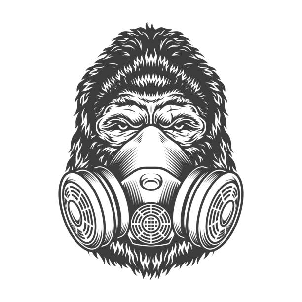Gas Mask Tattoos Illustrations, Royalty-Free Vector Graphics