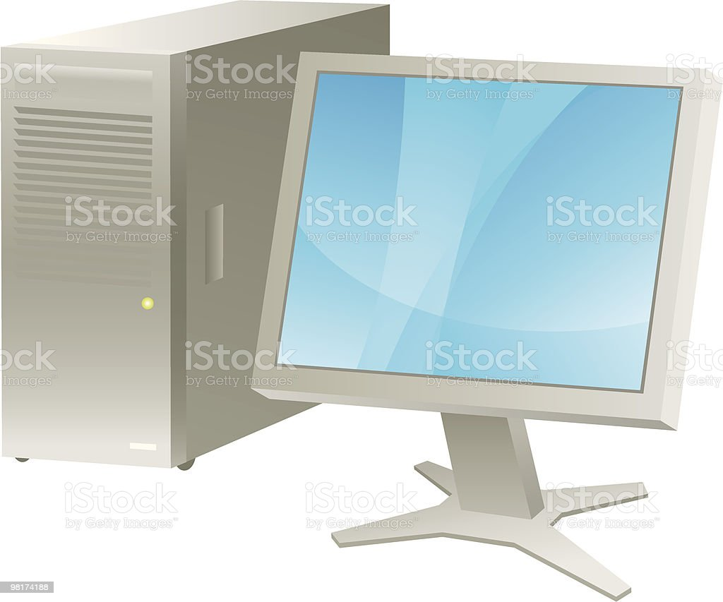 Server computer royalty-free server computer stock vector art & more images of blue