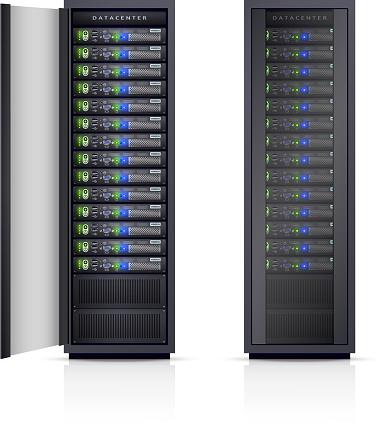 server racks realistic