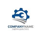 Service Agent Symbol Template Design Vector, Emblem, Design Concept, Creative Symbol, Icon