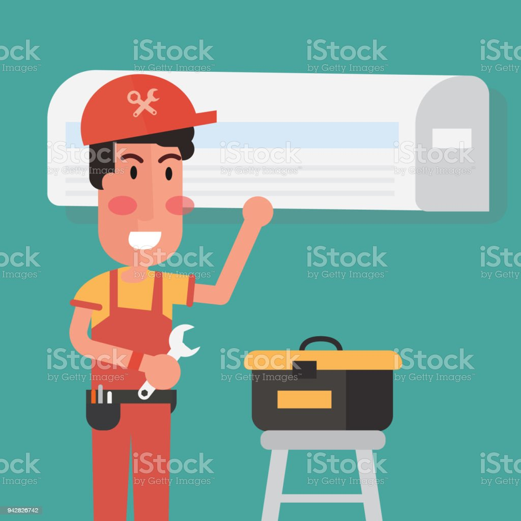 Service for repair  of air conditioners