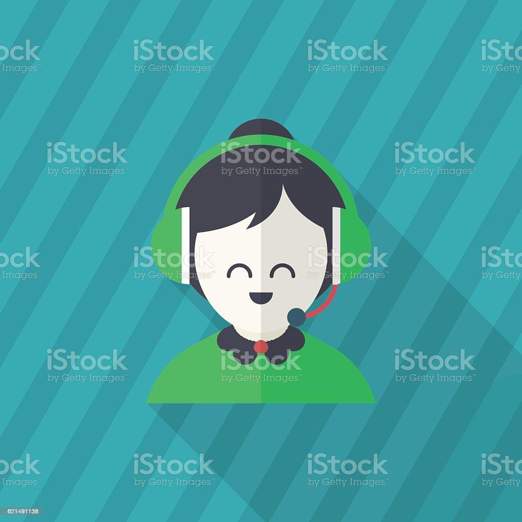 Icône du Service icône du service – cliparts vectoriels et plus d'images de adulte libre de droits