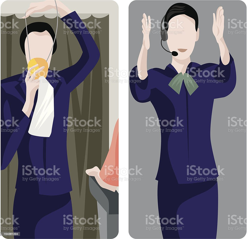 Service Worker Illustrations Series royalty-free service worker illustrations series stock vector art & more images of aboard