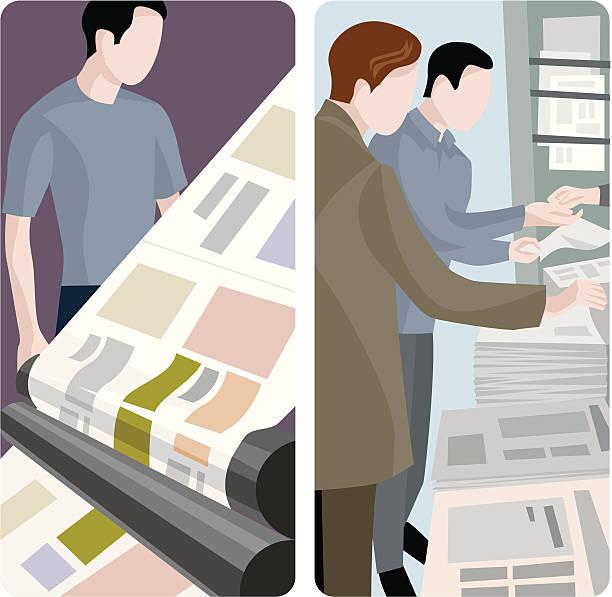 stockillustraties, clipart, cartoons en iconen met a service worker is depicted in cartoons - woman home magazine